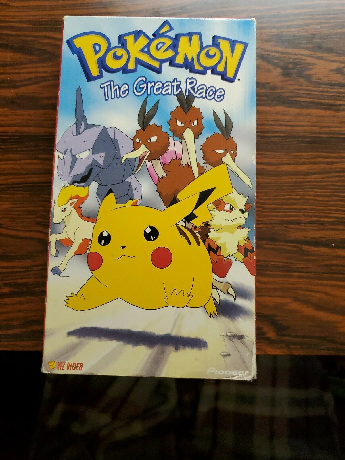 Pokemon The Great Race (1999 VHS)