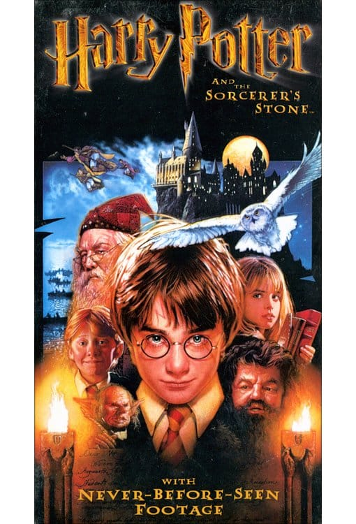Harry Potter and the Sorcerer's Stone (2002 VHS)