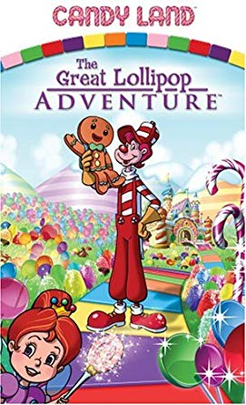 Candy Land: The Great Lollipop Adventure (2005 VHS)