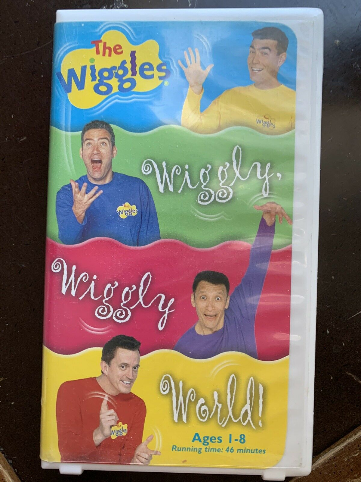 The Wiggles: Wiggly, Wiggly World! (2002 VHS)
