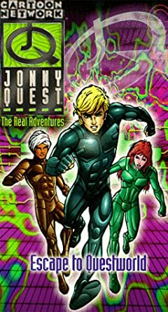 Jonny Quest: The Real Adventures: Escape to Questworld (1996 VHS)