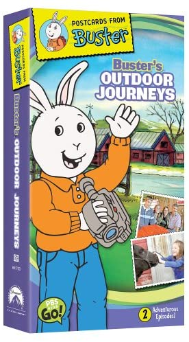 Postcards From Buster: Buster's Outdoor Journeys (2005 VHS)