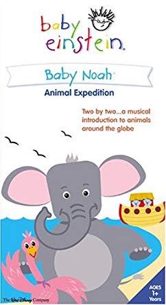 Baby Einstein: Baby Noah (2004 VHS)