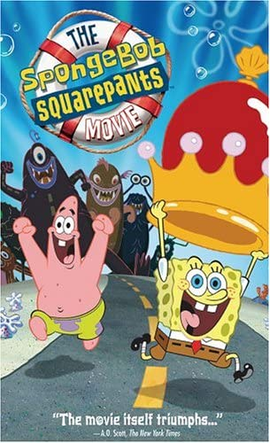 The SpongeBob SquarePants Movie (2005 VHS)