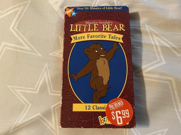 Little Bear: More Favorite Tales (1999 VHS)