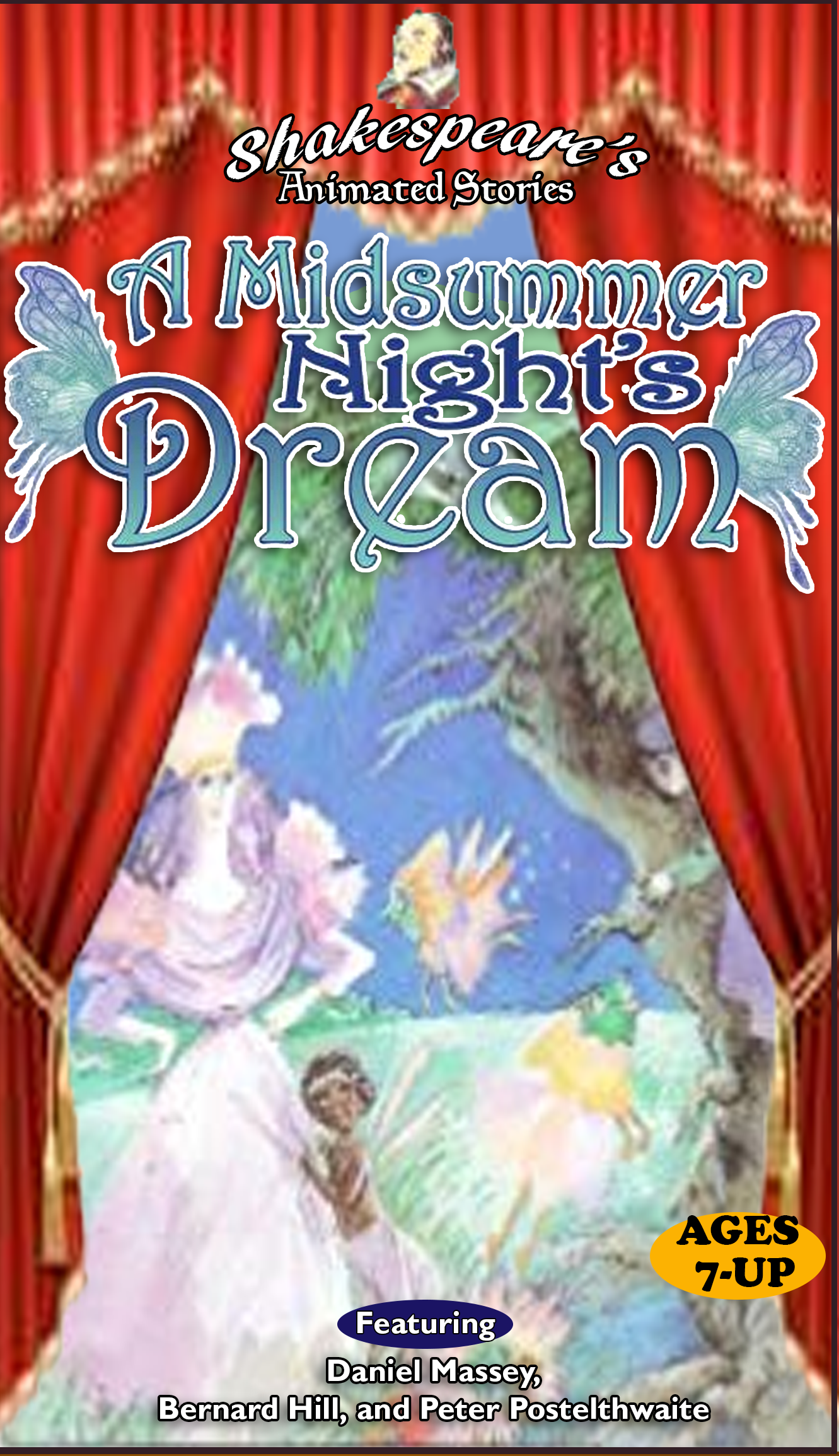 Shakespeare's Animated Stories: A Midsummer Night's Dream (1997 VHS)