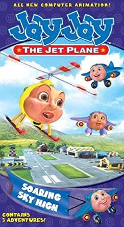 Jay Jay the Jet Plane: Soaring Sky High (2002 VHS)