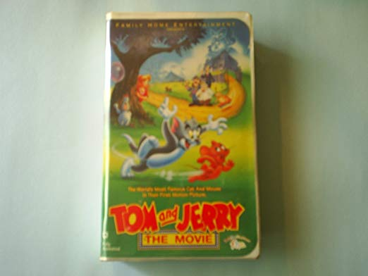 Tom and Jerry: The Movie (1993-2003 VHS)
