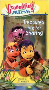 Groundling Marsh: Treasures Are For Sharing (1998 VHS)