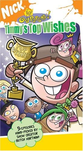 The Fairly OddParents!: Timmy's Top Wishes (2005 VHS)