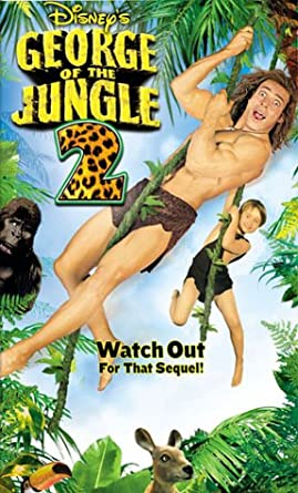 George of the Jungle 2 (2003 VHS/DVD)