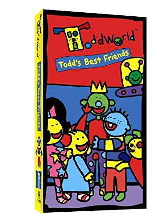 ToddWorld: Todd Best Friends (2005 DVD/VHS)