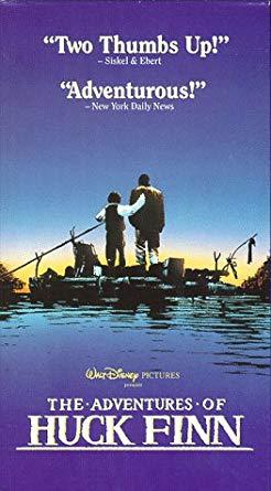 The Adventures of Huck Finn (1993 VHS)