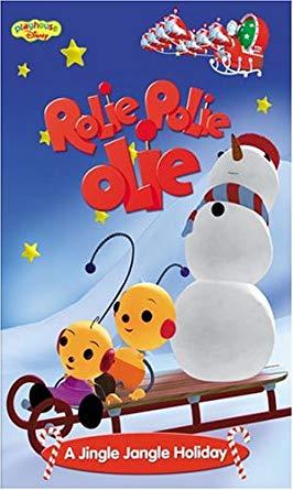 Rolie Polie Olie: A Jingle Jangle Holiday (2001 VHS)