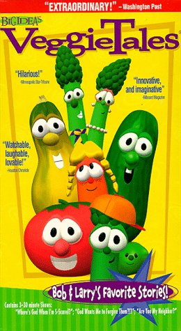VeggieTales: Bob & Larry's Favorite Stories (1998 VHS)