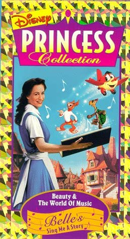 Belle's Sing Me a Story: Beauty and the World of Music (1996 VHS)
