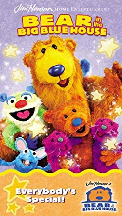 Bear in the Big Blue House: Everybody's Special! (2002 VHS)