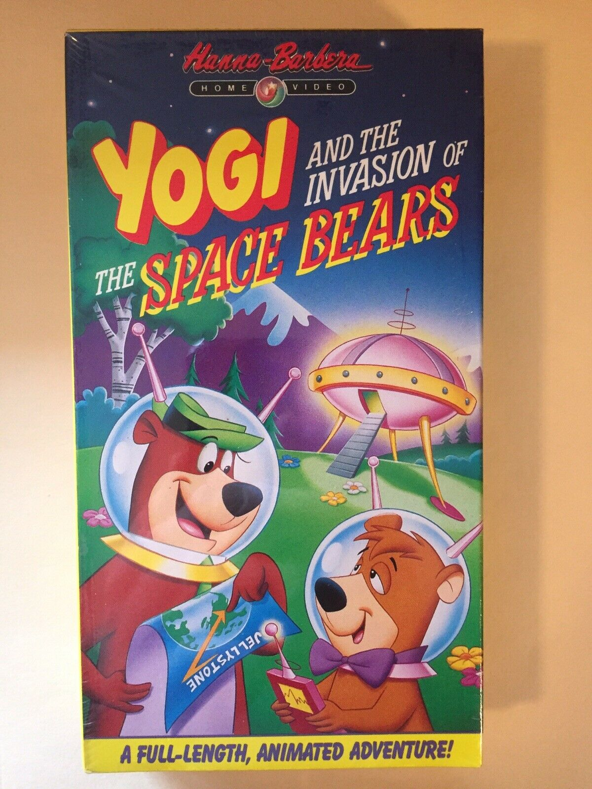 Yogi and the Invasion of the Space Bears (1990 VHS)
