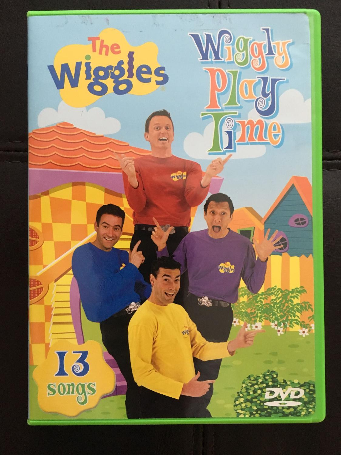 The Wiggles: Wiggly Play Time (2004 DVD)