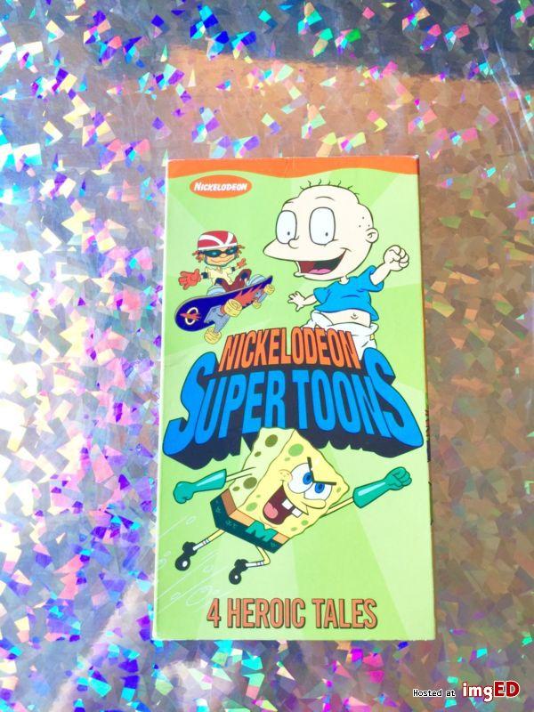 Nickelodeon SuperToons (2002 VHS)