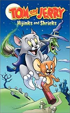 Tom and Jerry: Hijinks and Shrieks (2003 VHS)