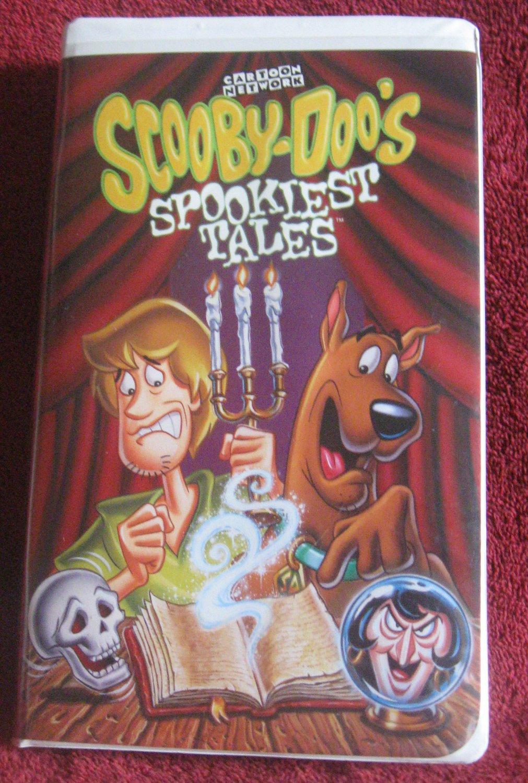 Scooby-Doo's Spookiest Tales (2001 VHS)