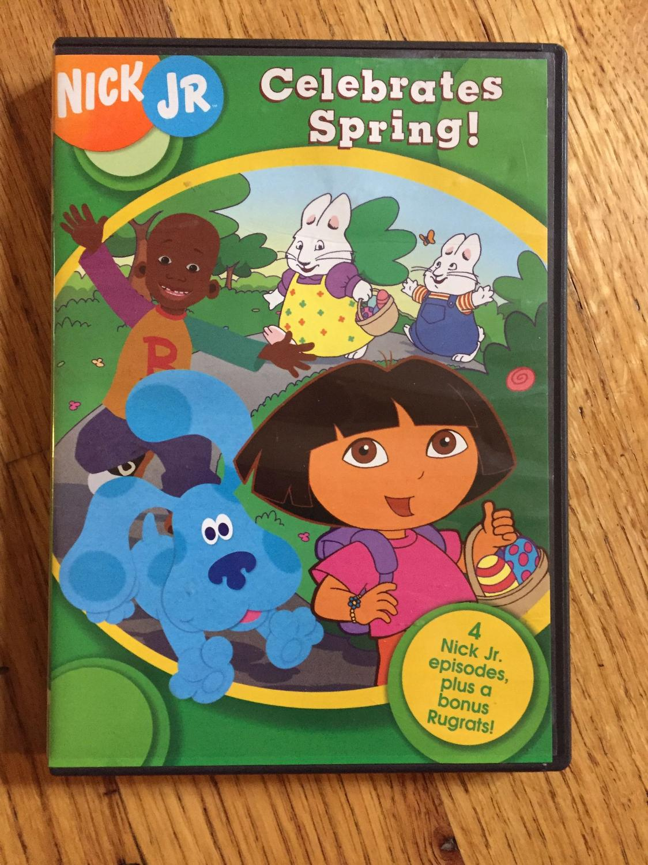 Nick Jr. Celebrates Spring! (2004 DVD)