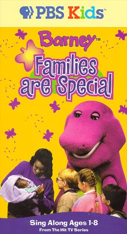 Barney's Families are Special (1997 VHS)