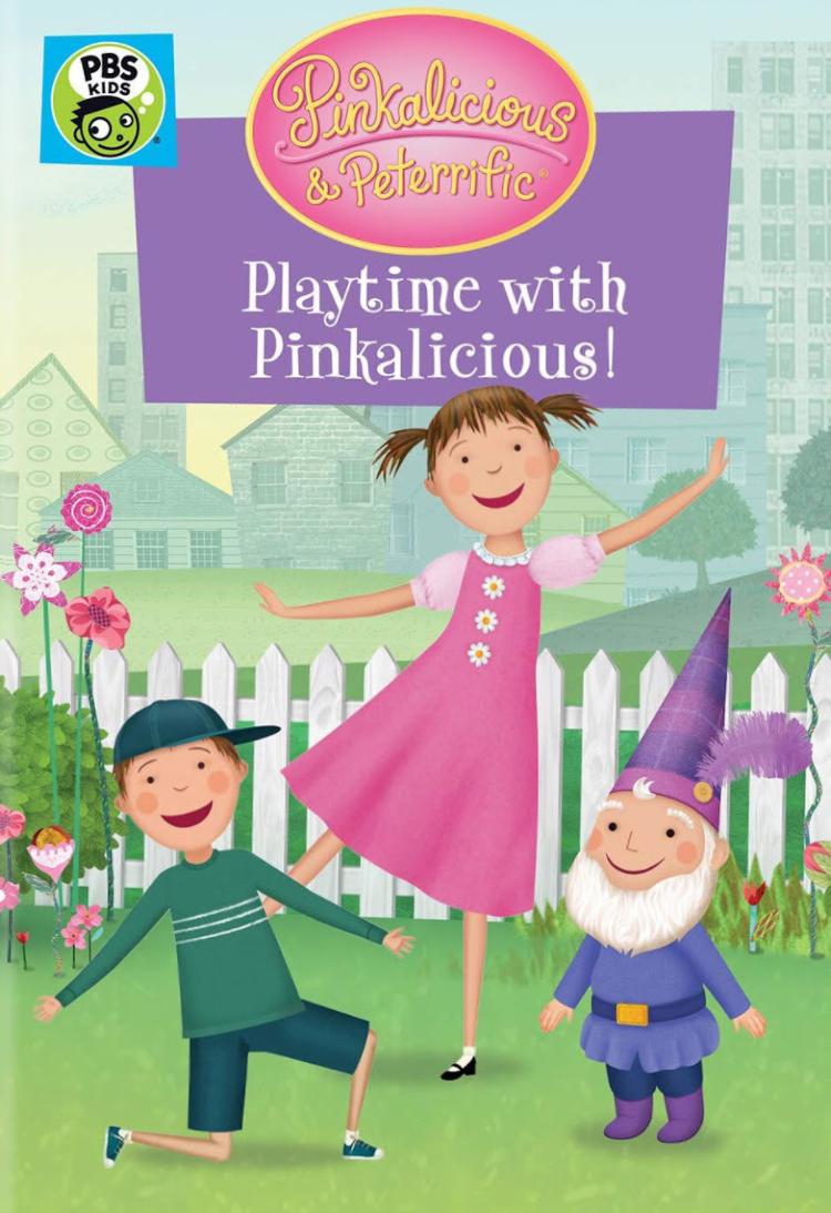 Pinkalicious & Peterrific: Playtime with Pinkalicious! (2020 DVD)