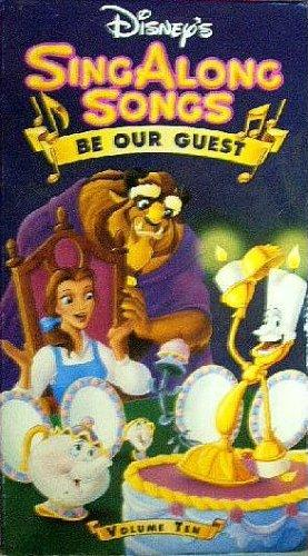 Disney's Sing-Along Songs: Be Our Guest (1992-1994 VHS)