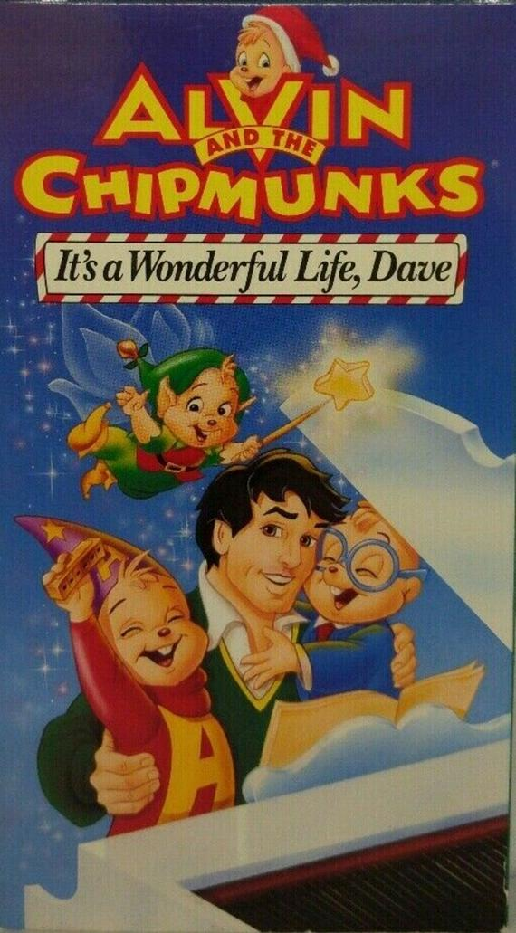Alvin and the Chipmunks: It's a Wonderful Life, Dave (1993 VHS)