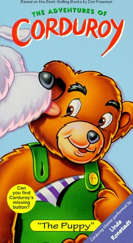 The Adventures of Corduroy: The Puppy (1996 VHS)
