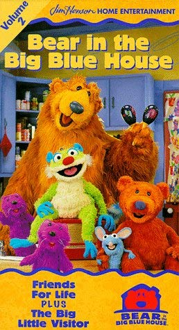 Bear in the Big Blue House: Volume 2 (1998 VHS)