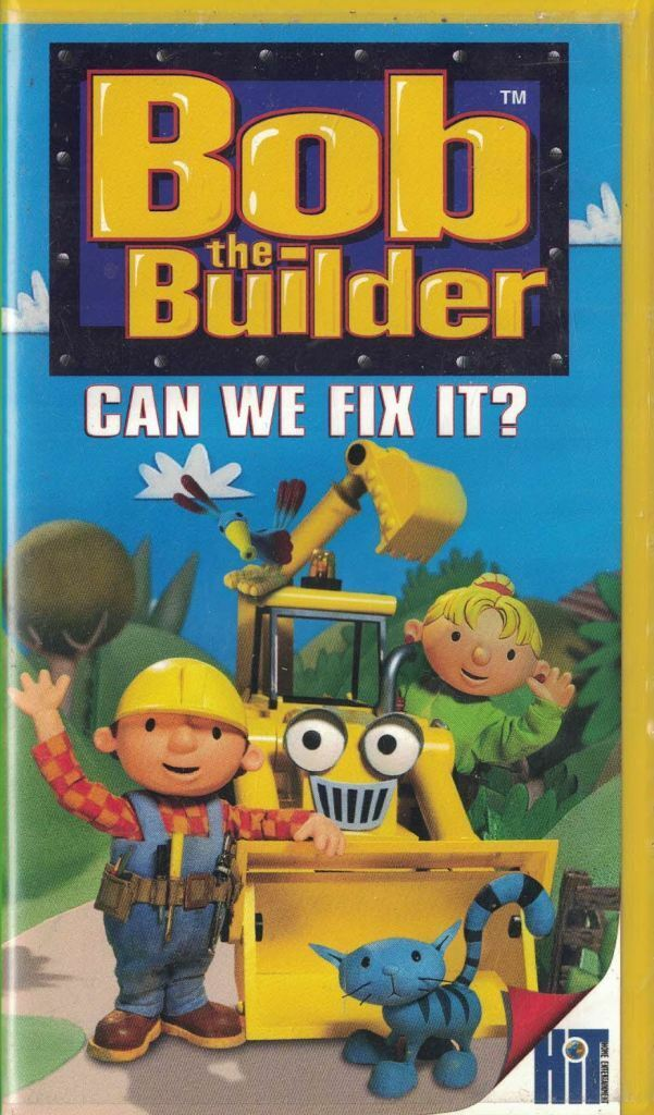 Bob the Builder: Can We Fix It? (2001 VHS)