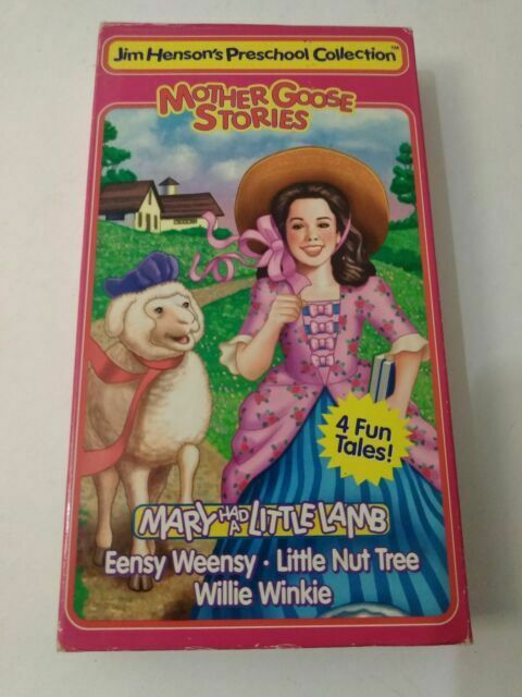 Mother Goose Stories: Mary Had A Little Lamb (1995 VHS)