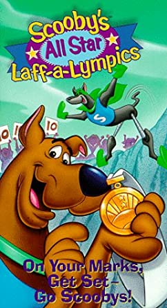 Scooby's All Star Laff-a-Lympics: On Your Marks, Get Set—Go Scoobys! (1996 VHS)