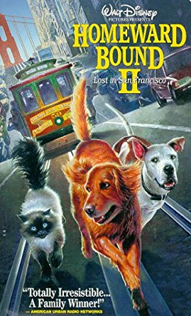 Homeward Bound II Lost in San Francisco (1996 VHS)