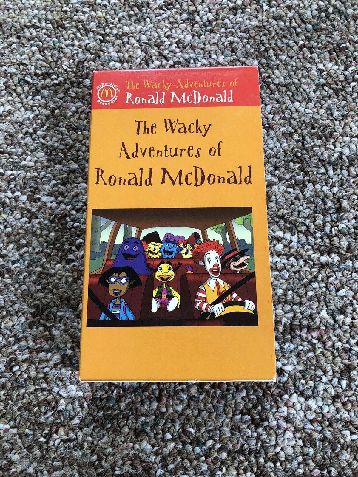 The Wacky Adventures of Ronald McDonald: The Legend of McDonaldland Loch (2003 VHS)