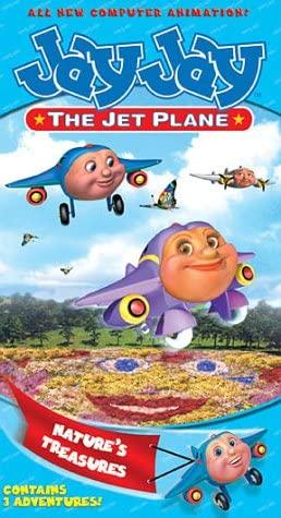 Jay Jay the Jet Plane: Nature's Treasures (2002 VHS)