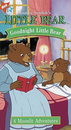 Little Bear; Goodnight Little Bear (1998 VHS)