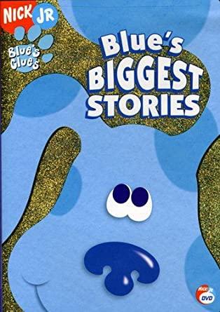 Blue's Clues: Blue's Biggest Stories (2006 DVD)