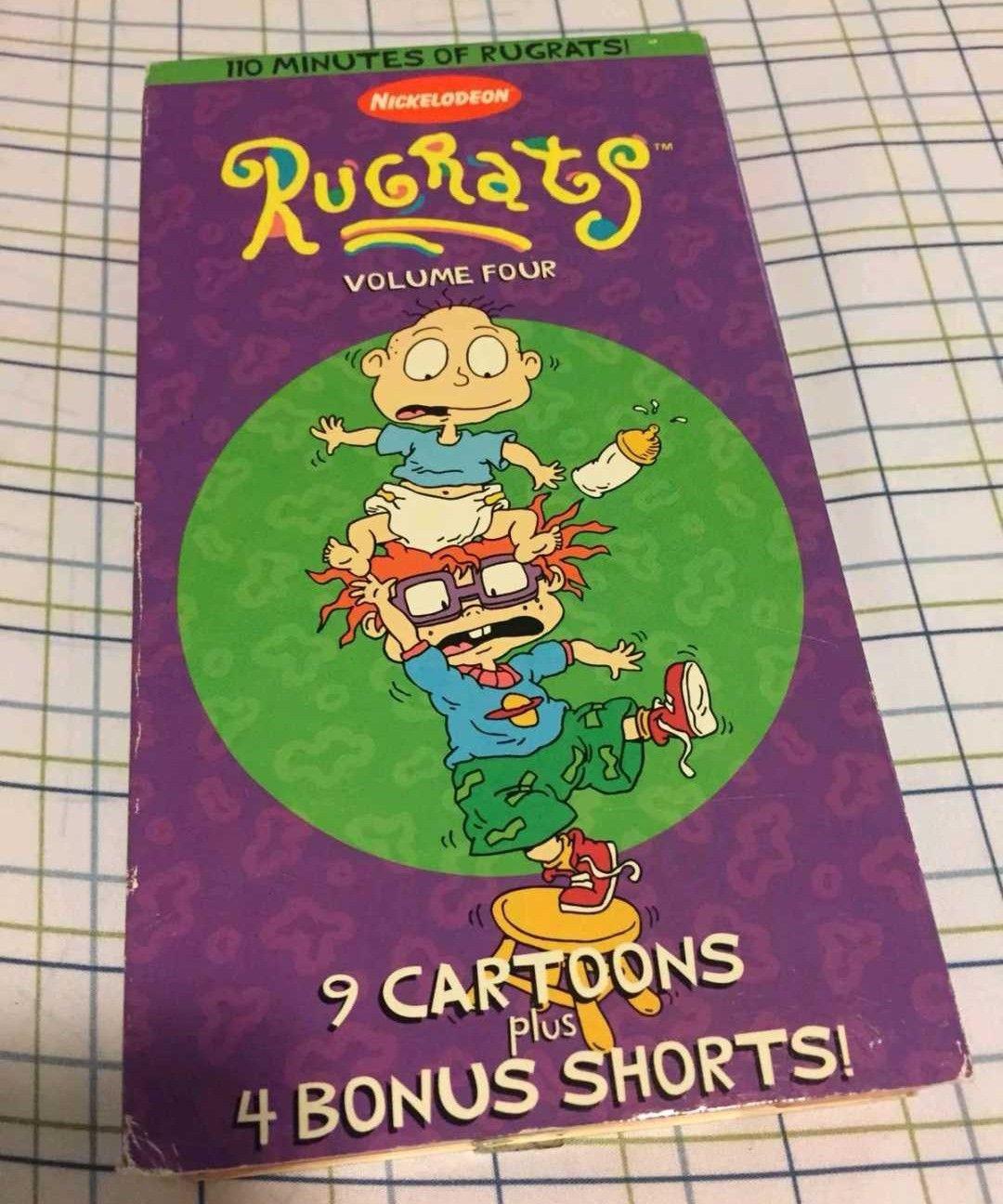 Rugrats: Volume 4 (1997 VHS)