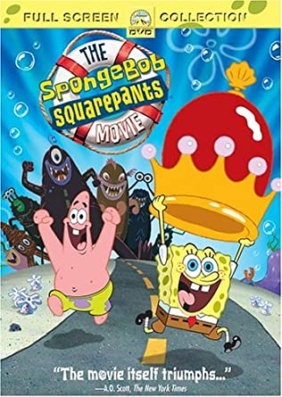 The SpongeBob Squarepants Movie (2005 DVD)