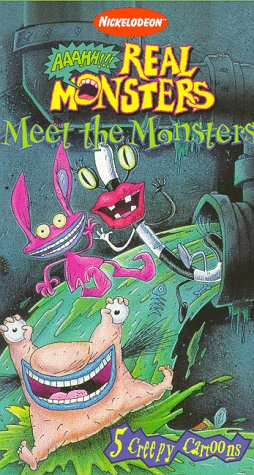 Aaahh!!! Real Monsters: Meet the Monsters (1997 VHS)