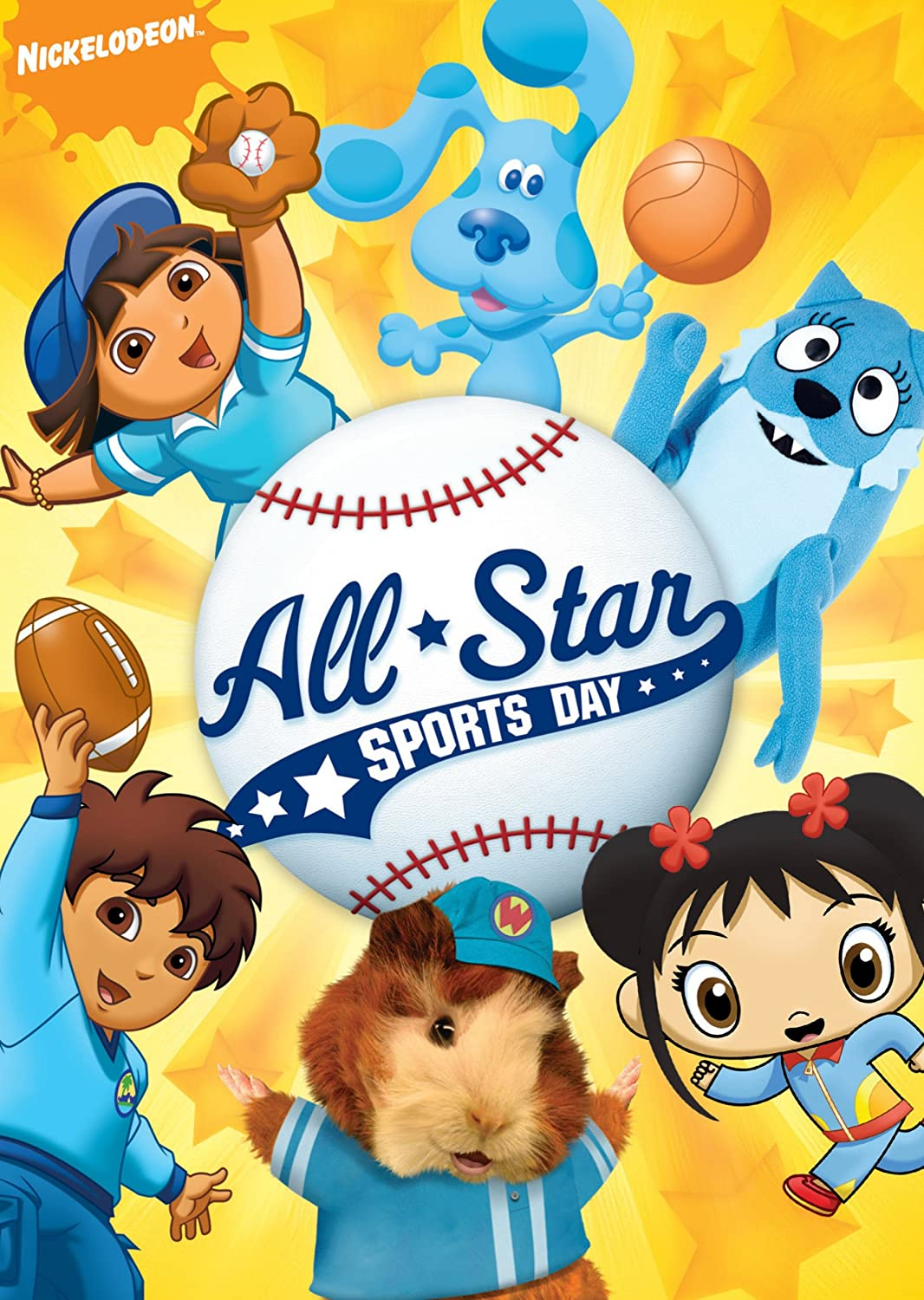 Nickelodeon All-Star Sports Day (2009 DVD)