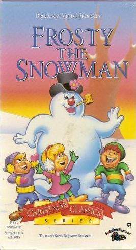 Frosty The Snowman (1993-1997 VHS)