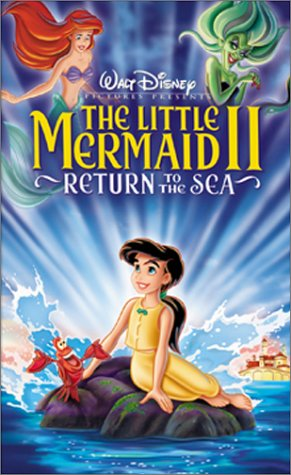 The Little Mermaid II: Return to the Sea (VHS/DVD)