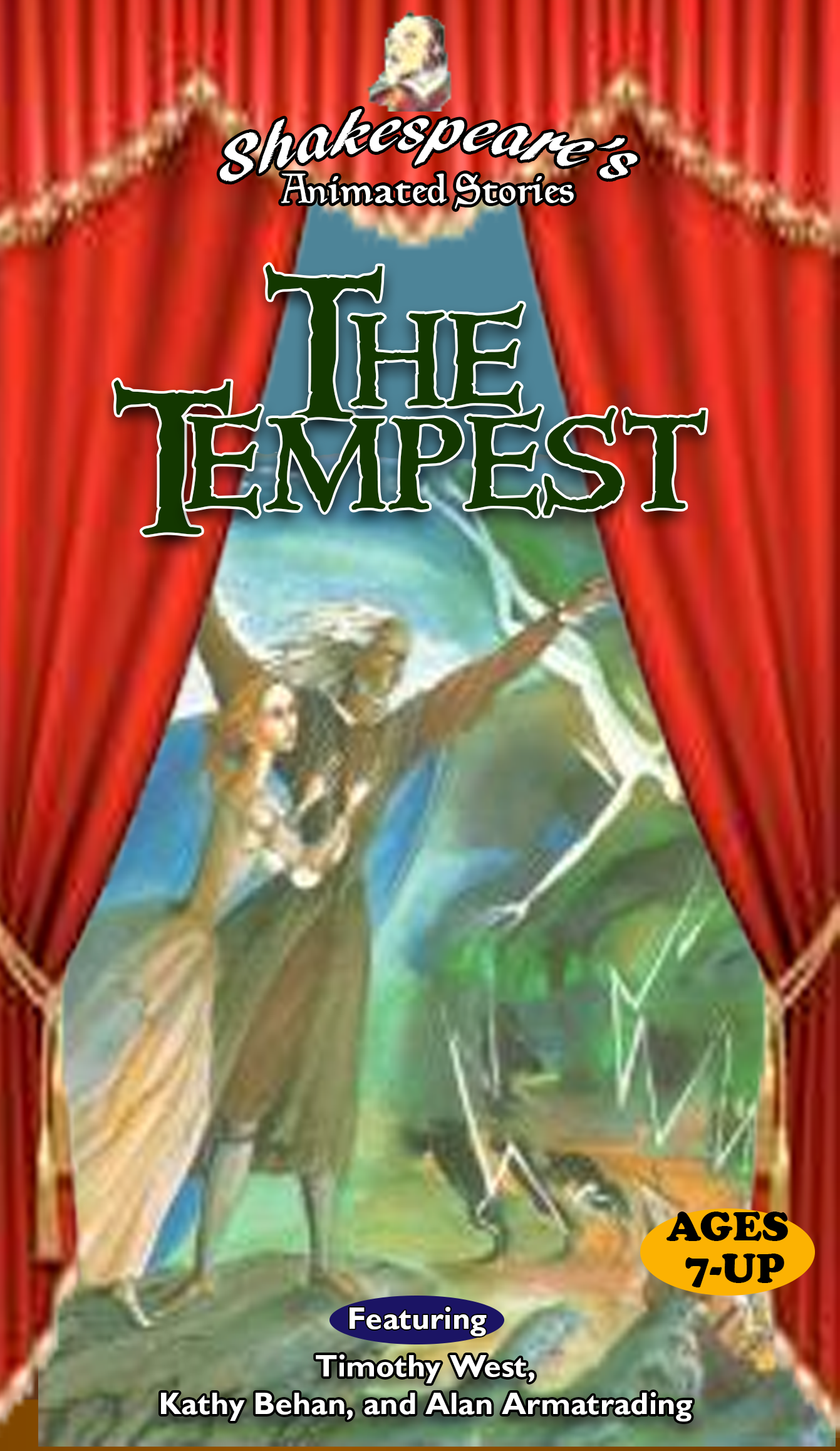 Shakespeare's Animated Stories: The Tempest (1997 VHS)