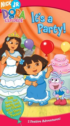 Dora the Explorer: It's a Party! (2005 VHS)