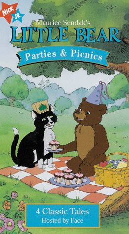 Little Bear; Parties and Picnics (1998 VHS)